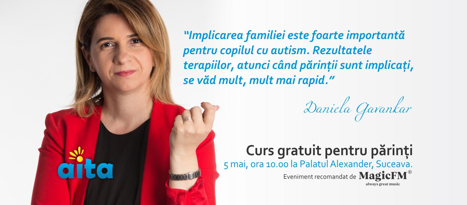Curs pentru părinții copiilor cu autism, Suceava, 2019